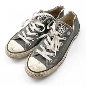 Converse All Star gray shoes (unisex)